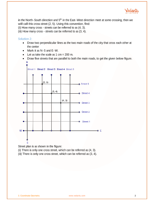 NCERT Solutions for Class 9 Maths Chapter 3 Coordinate Geometry