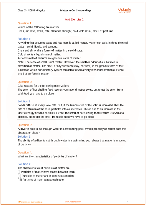 ncert solutions for class 9 science physics pdf