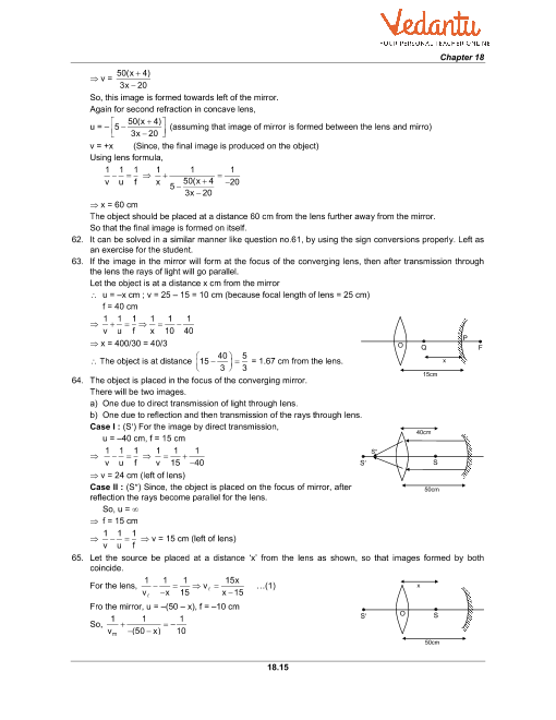 HC Verma Class 11 Physics Part-1 Solutions for Chapter 18