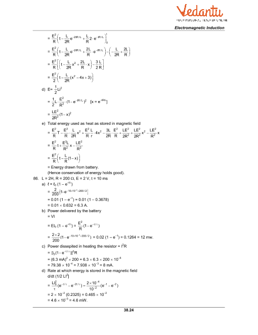 HC Verma Class 12 Physics Part-2 Solutions for Chapter 38