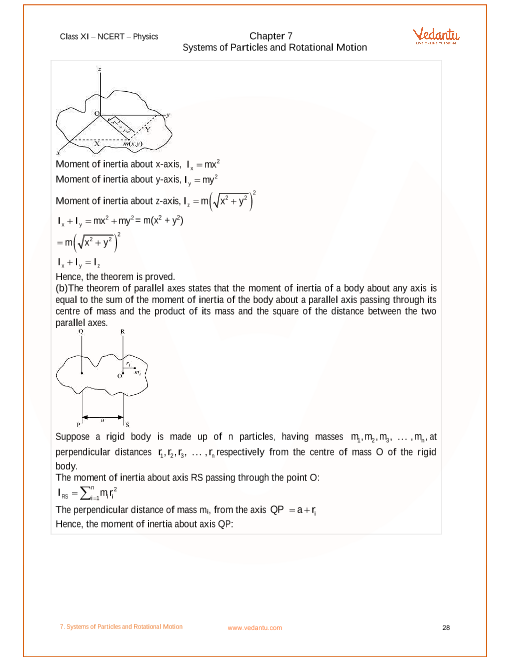 NCERT Solutions for Class 11 Physics Chapter 7 Systems of Particles
