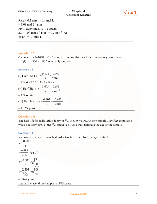 Grade 12 Chemistry Topics