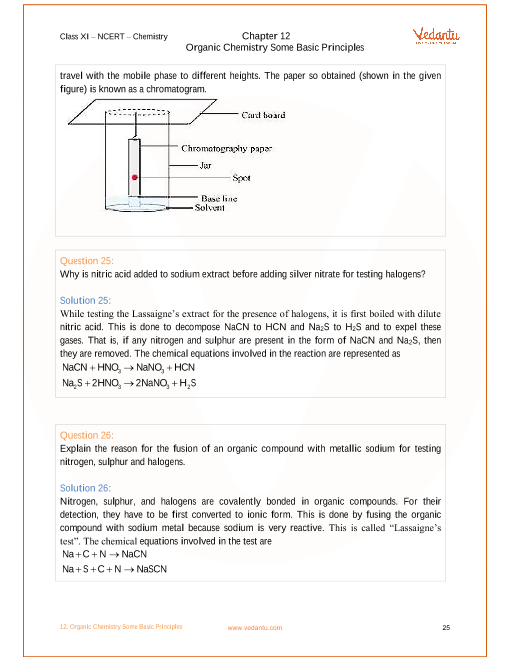NCERT Solutions for Class 11 Chemistry Chapter 12 Organic Chemistry