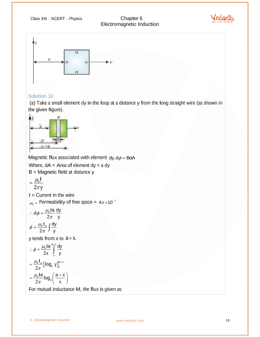 NCERT Solutions for Class 12 Physics Chapter 6 Electromagnetic