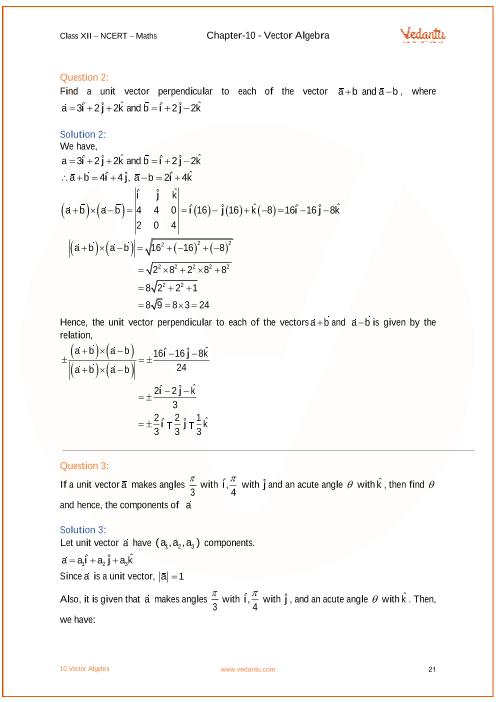 12th Maths Solution Book