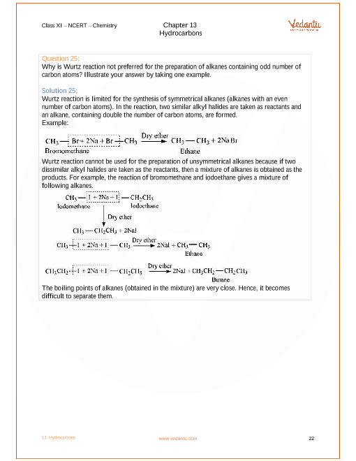 NCERT Solutions for Class 11 Chemistry Chapter 13