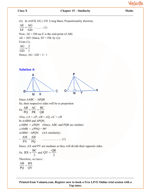 Similarity (With Applications to Maps and Models) Solutions for ICSE