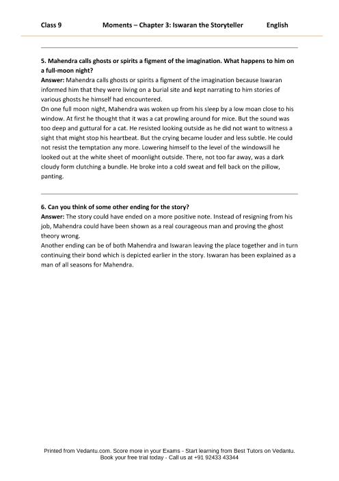 Answers of bbc compacta class 9 module 2