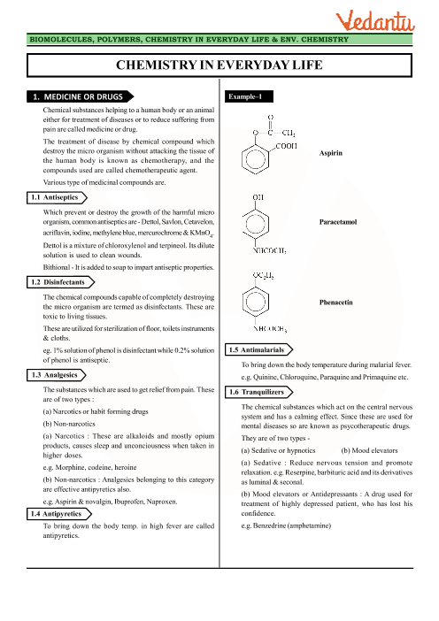 Class 12 Chemistry Revision Notes for Chapter 16 - Chemistry