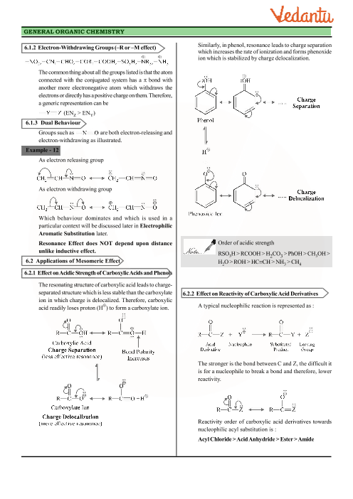 Class 11 Chemistry Revision Notes for Chapter 12 - Organic Chemistry