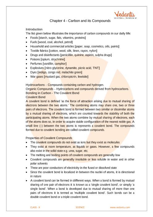 class 10 science notes in english medium pdf