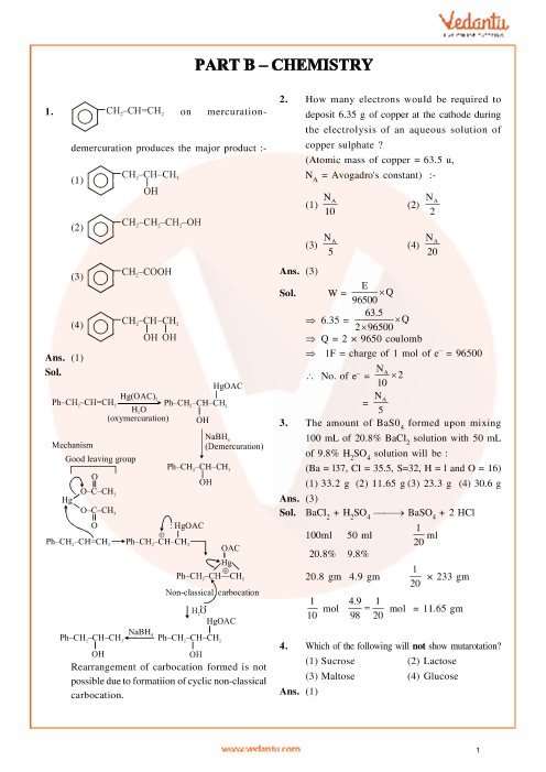 JEE Main Chemistry QP with Solutions 2014 Online-12-04-2014 part-1