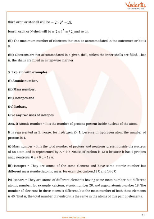 Important Questions for CBSE Class 9 Science Chapter 4