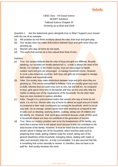 NCERT Solutions for Class 7 Social Science - Social and