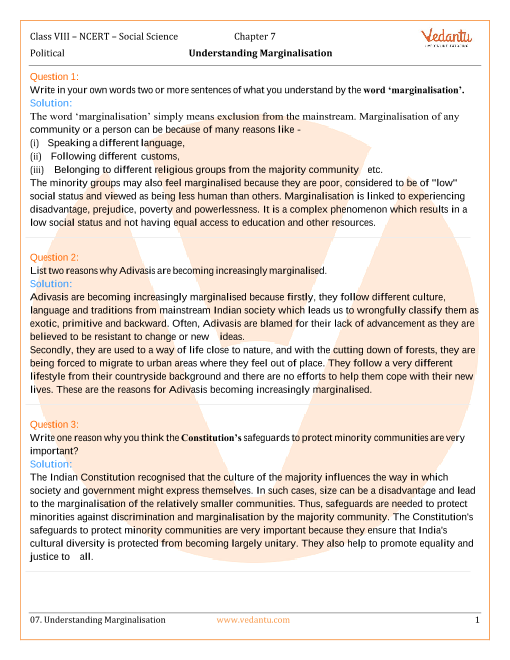 ncert class 8 social science notes pdf
