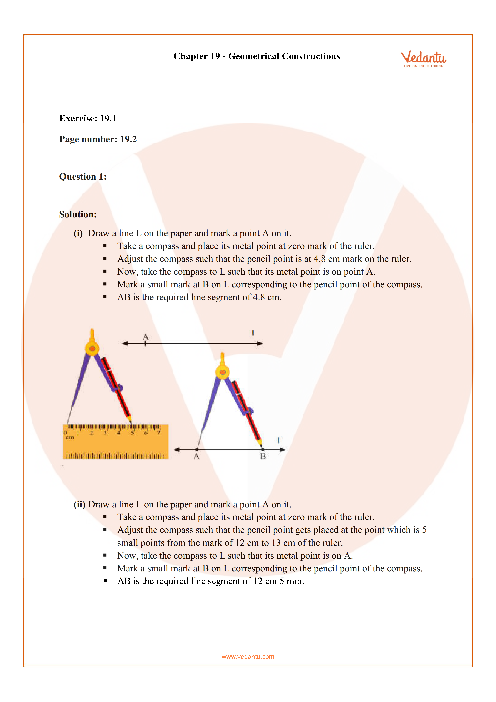 RD Sharma Class 6 Solutions Chapter 19 part-1