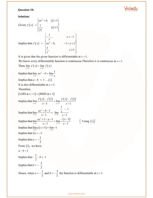 RD Sharma Class 12 Maths Solutions Chapter 10