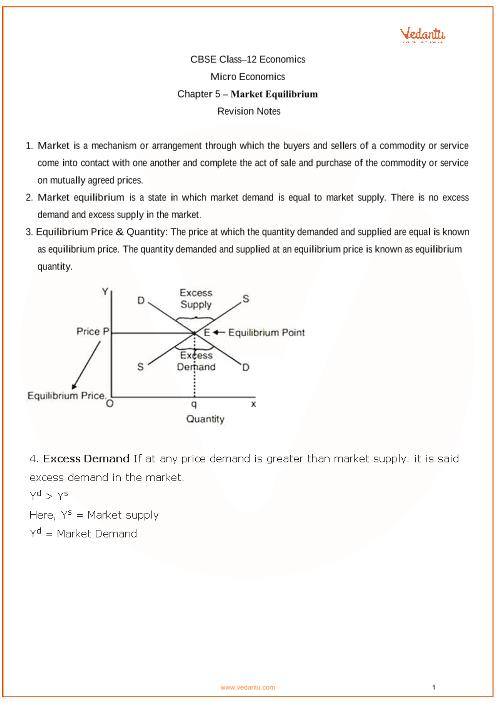 Class 12 - Chapter 5 - Micro Economics part-1