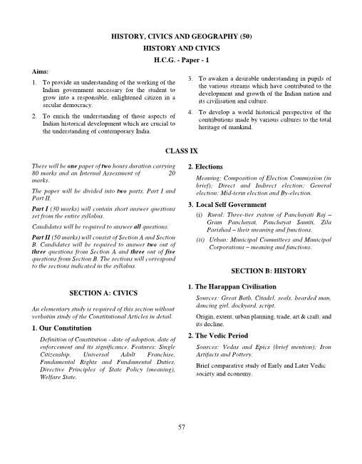 Icse Class 9 Maths Question Paper 2018