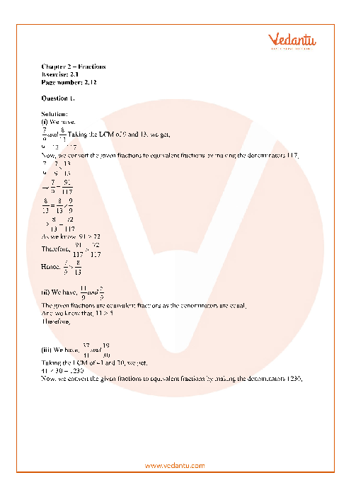 RD Sharma Class 7 Solutions Chapter 2 part-1