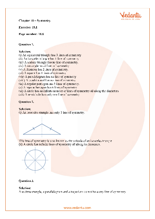 RD Sharma Class 7 Solutions Chapter 18 part-1