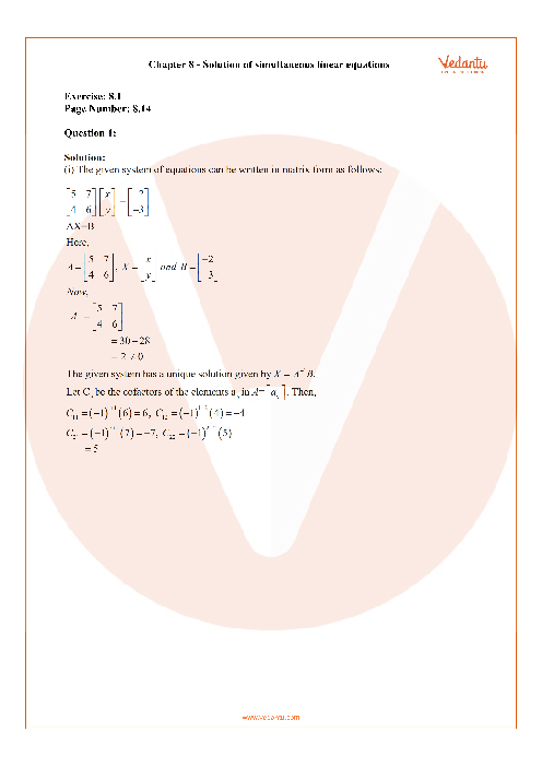 RD Sharma Class 12 Solutions Chapter-8 part-1