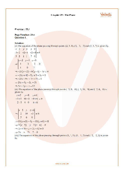 RD Sharma Class 12 Solutions Chapter-29 part-1