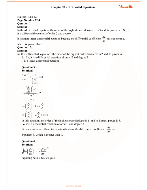 RD Sharma Class 12 Solutions Chapter 22 part-1