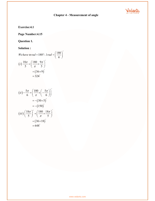 RD Sharma Class 11 Solutions Chapter 4 part-1