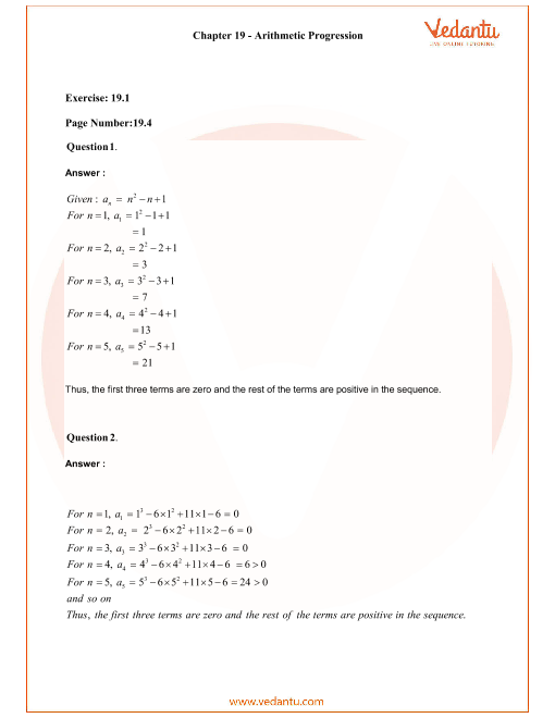 RD Sharma Class 11 Solutions Chapter 19 part-1