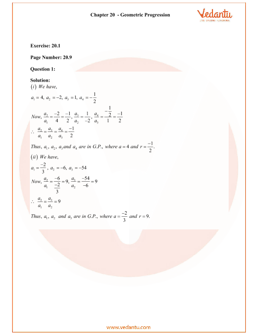 RD Sharma Class 11 Solutions Chapter 20 part-1