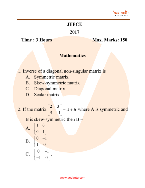 Mathematics (1) part-1
