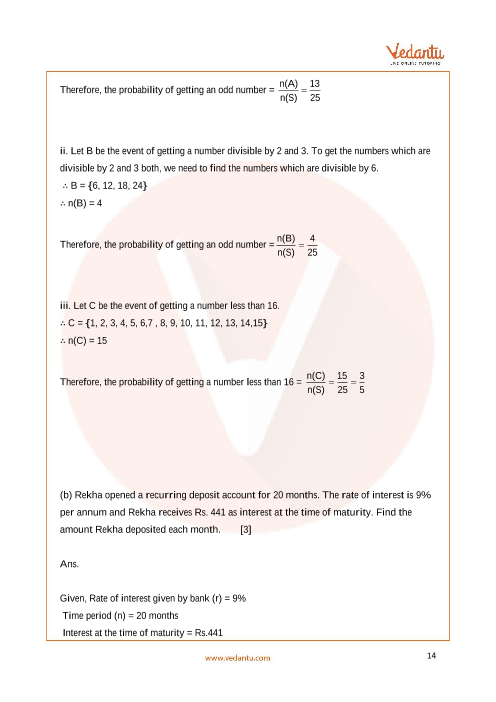 Previous Year Mathematics Question Paper for ICSE Class 10