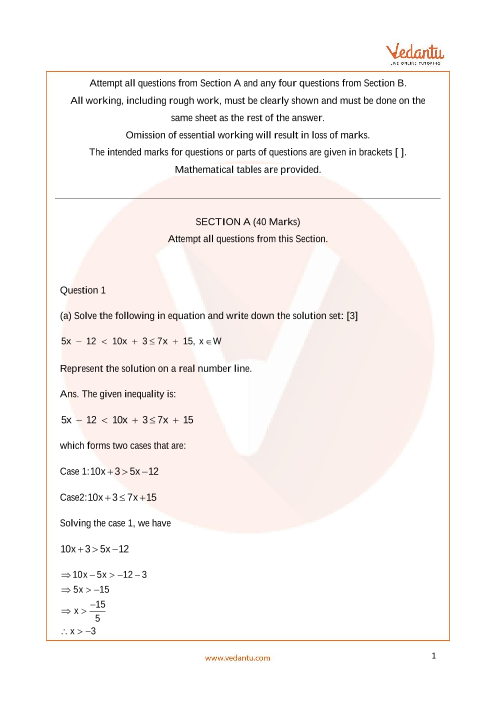 ICSE_Class 10_Maths_Sample paper_2 part-1