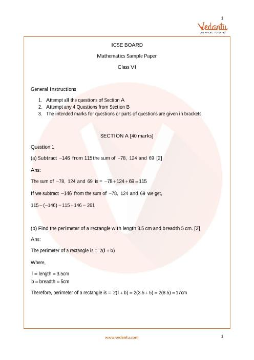ISCE_Class 06_Maths_Sample paper_1 part-1