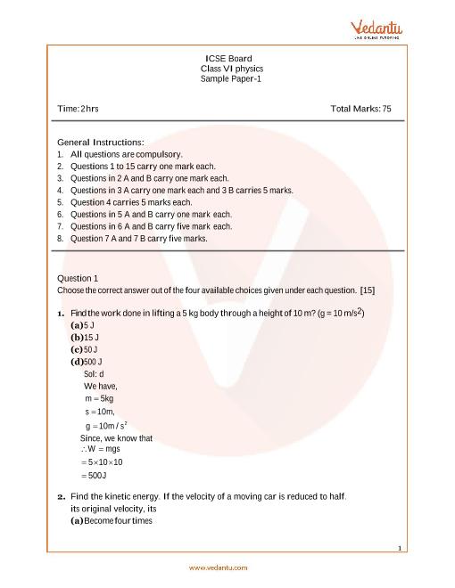 Icse question papers for class 6 pdf resume for canadian job market
