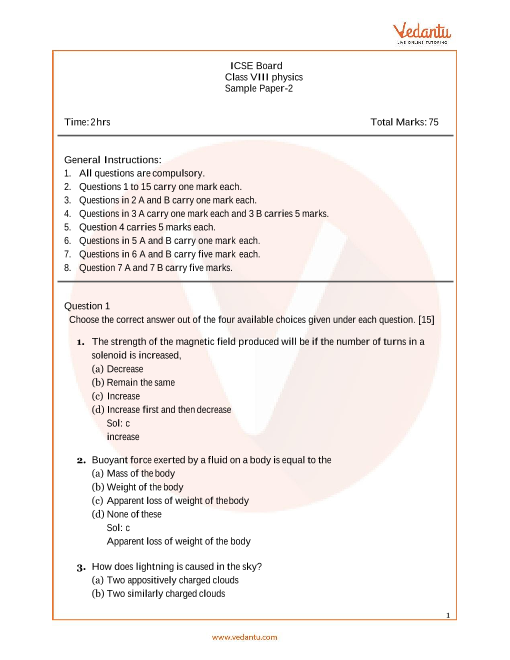 ISCE_Class 08_Physics_Sample paper_2 part-1
