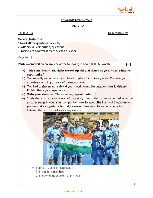 ICSE_Class 09_English_Sample paper_2 part-1