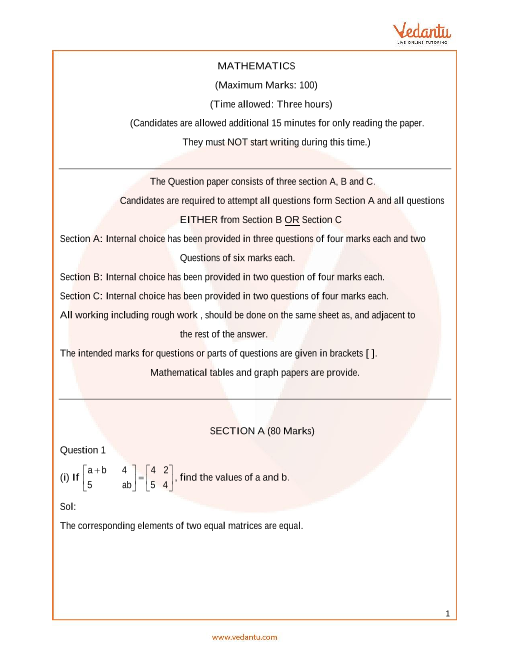 ISC_Class 12_Maths_Sample paper_2 part-1