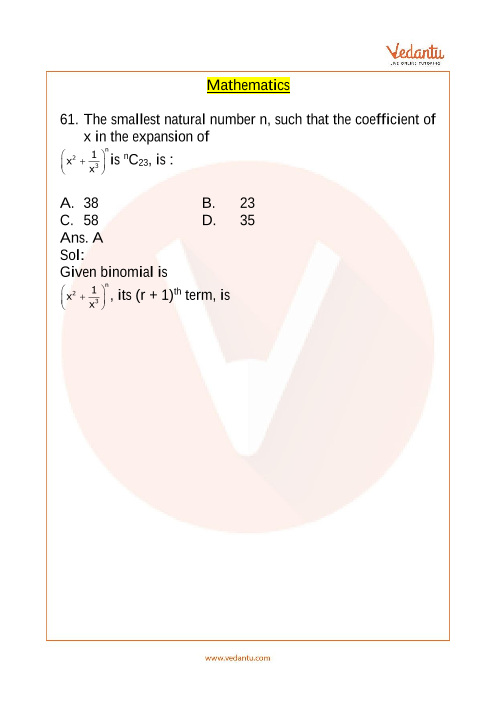 JEE Main 10 April 2019 Maths Question Paper Evening Shift 2 part-1
