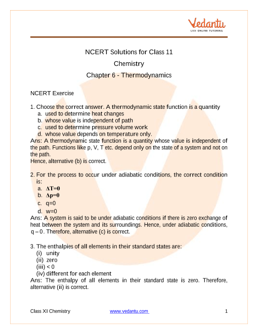 thermodynamics questions and answers pdf free download