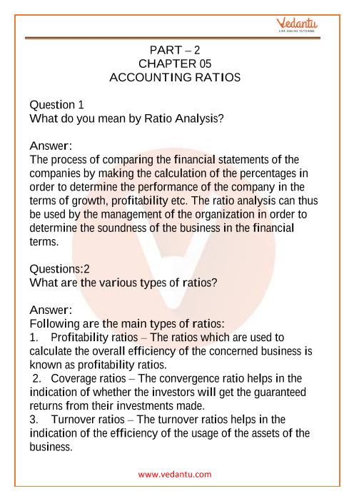 Class 12 Accountancy Part 2 Chapter 5 part-1