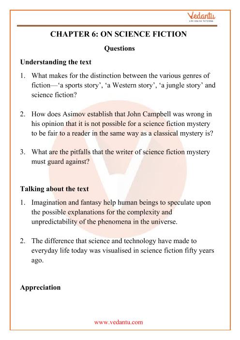 NCERT Solutions for Class 12 English Kaleidoscope Chapter 6 part-1