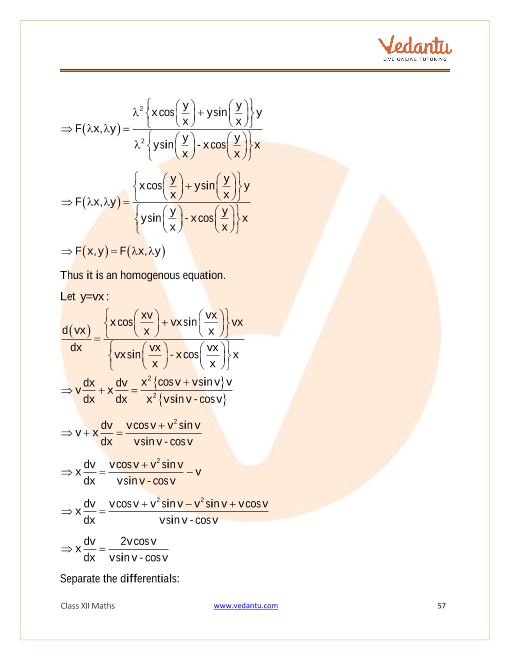 NCERT Solutions for Class 12 Maths Chapter 9 Differential