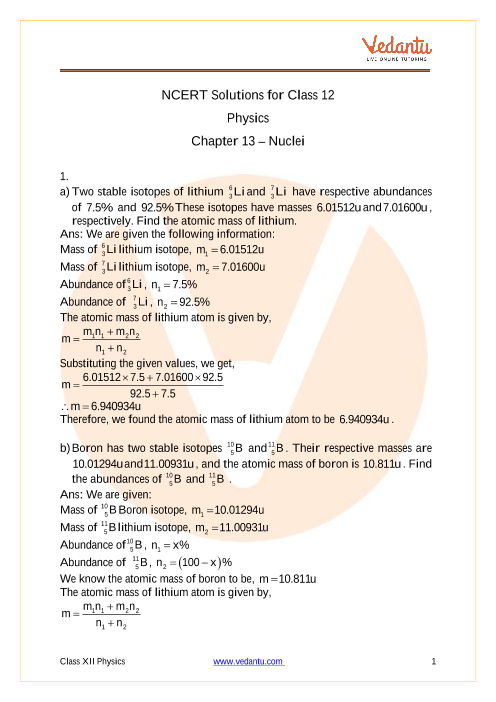 Physics Class 12 Chapter 13 part-1