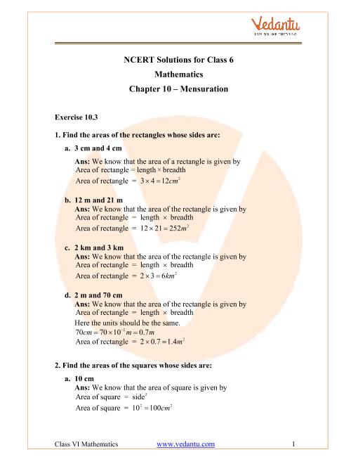 Mensuration 1-11-15 part-1