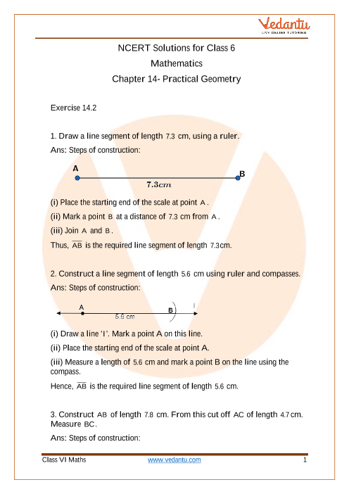 Practical Geometry - 1-4-6 part-1