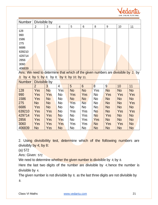 NCERT Solutions for Class 6 Maths Chapter 3 Playing with