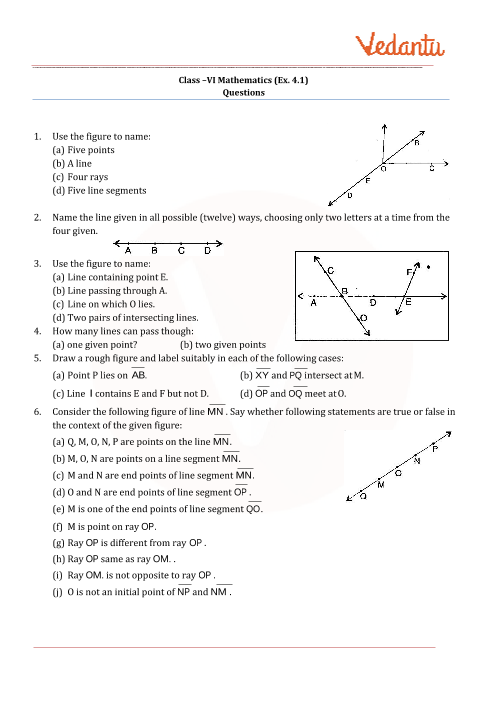 Basic Geometrical Ideas  part-1