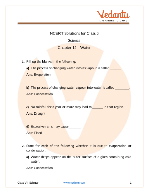 Water part-1
